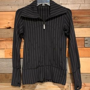 Lululemon Athletica In Stride Pinstripe Jeacket
